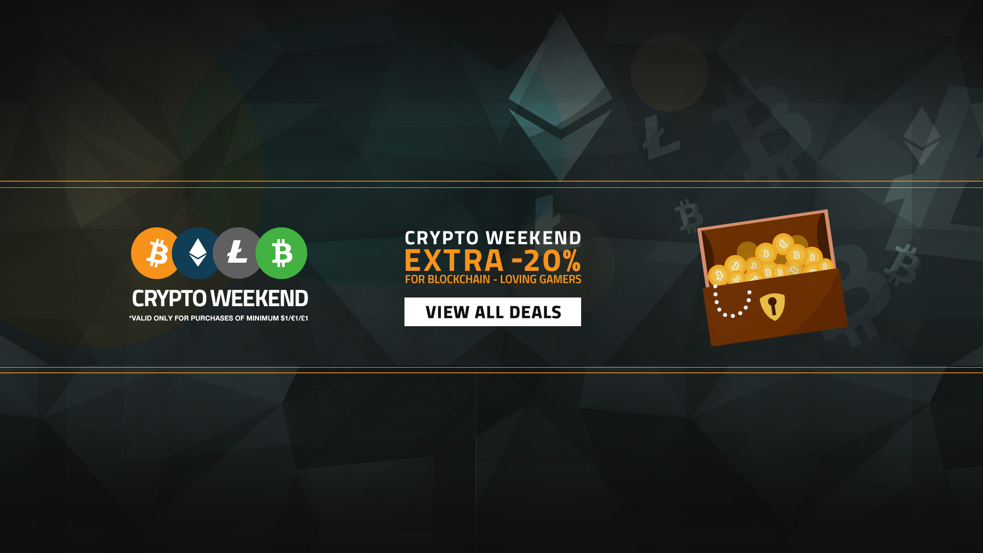 Crypto Weekend Sale