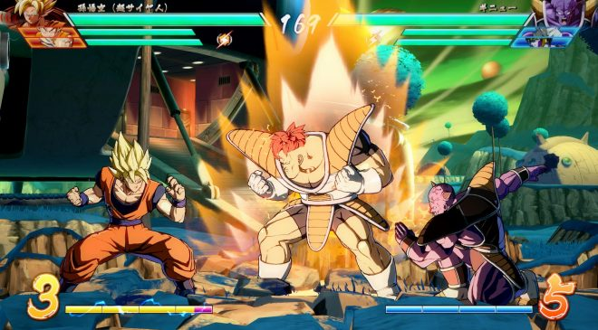 Dragon Ball FighterZ is a must play for Dragon Ball fans.