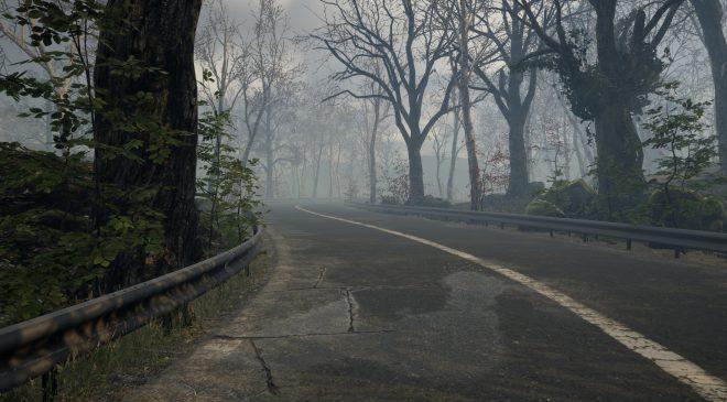 Dark atmosphere, feeling of isolation, empty roads