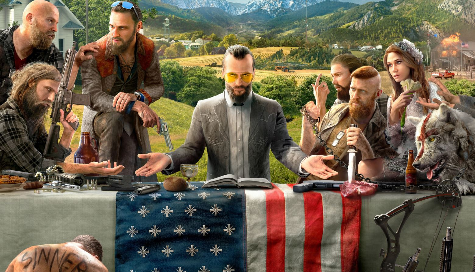 Far Cry 5: here's your villain, Joseph Seed