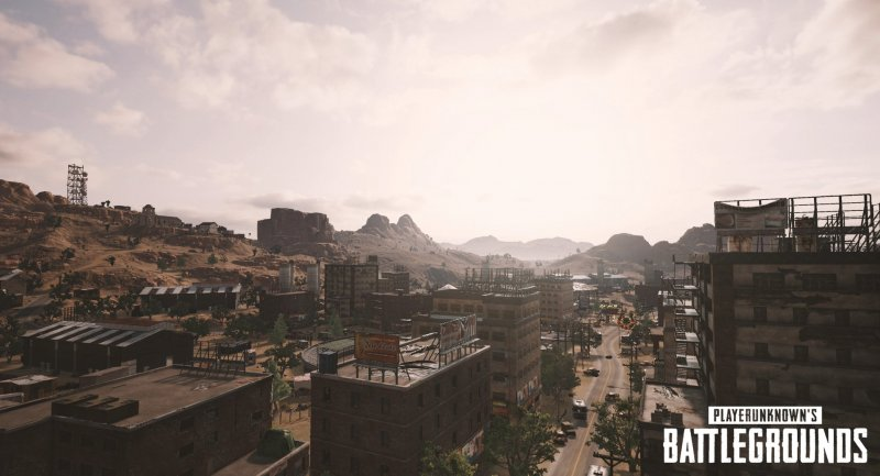 Playerunknown's Battlegrounds has a very large map