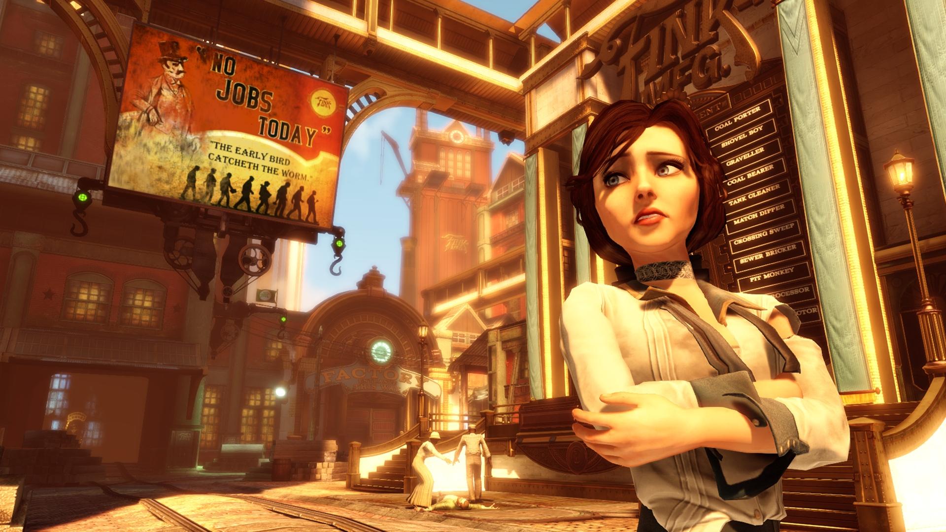 Elizabeth in town