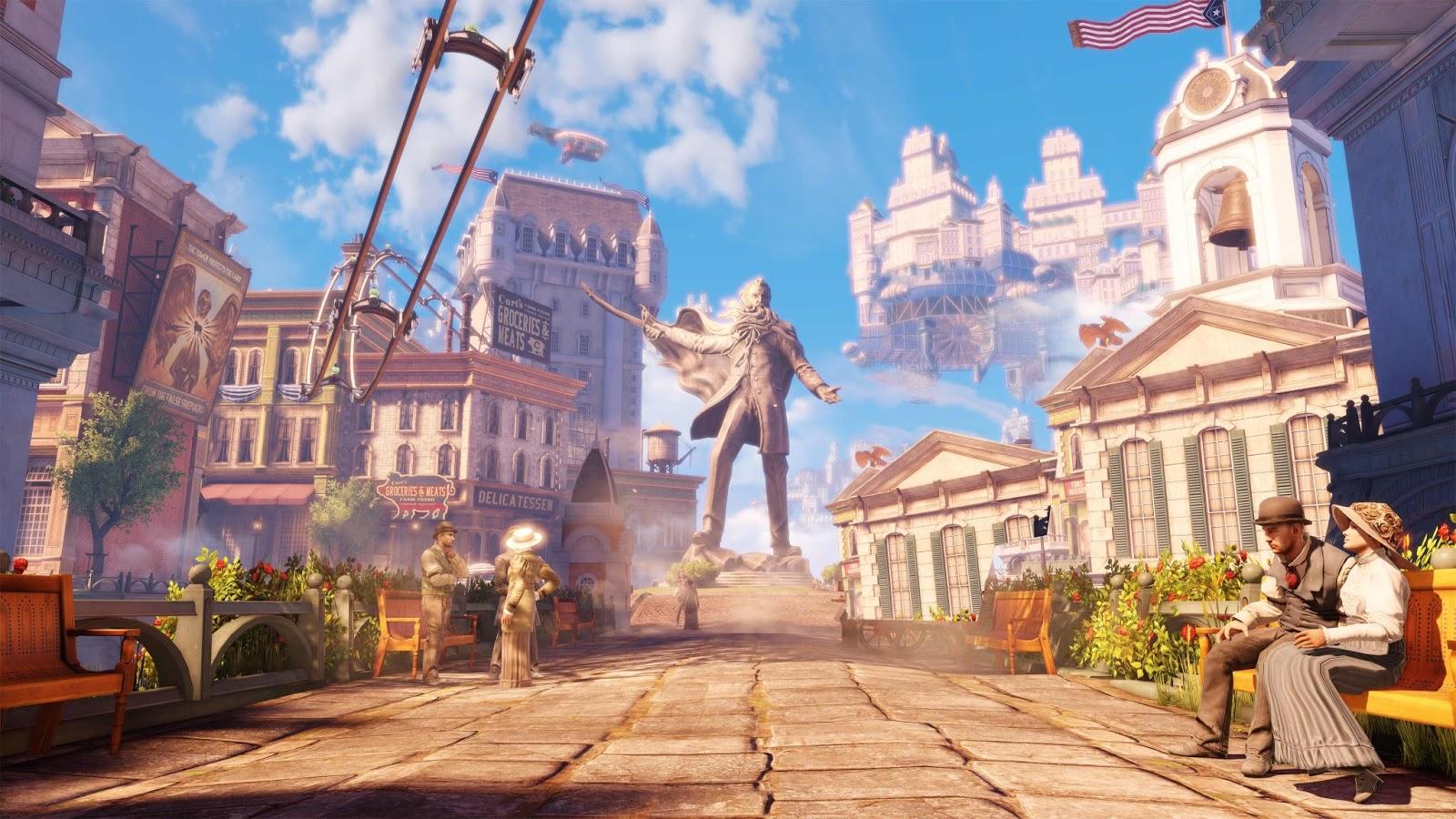 Bioshock Infinite has a stunning setting: Columbia