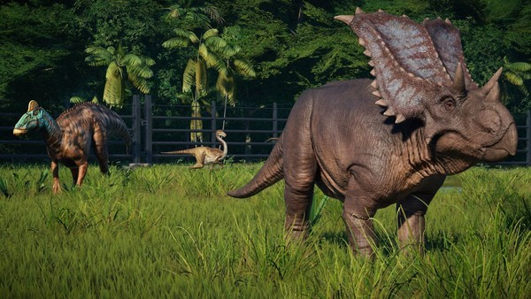 Jurassic World Evolution dinosaurs