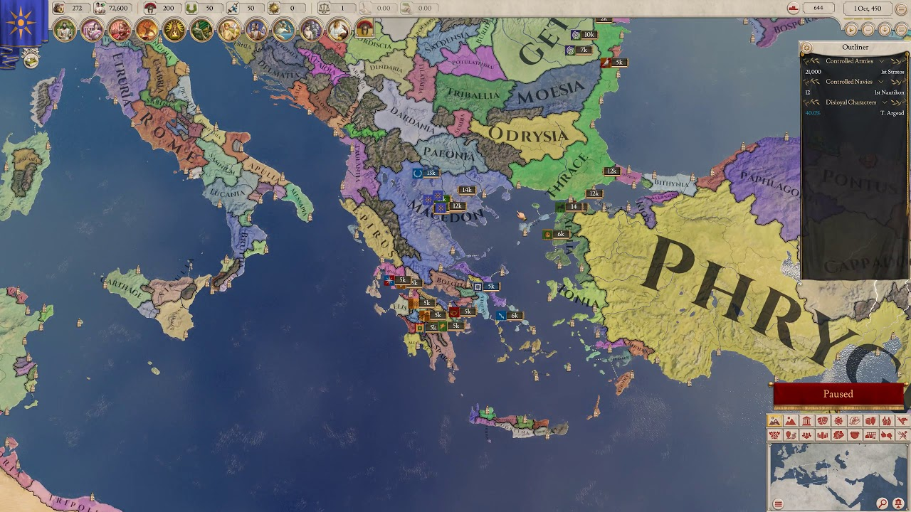 Paradox Fantasy Weekend: Imperator Rome