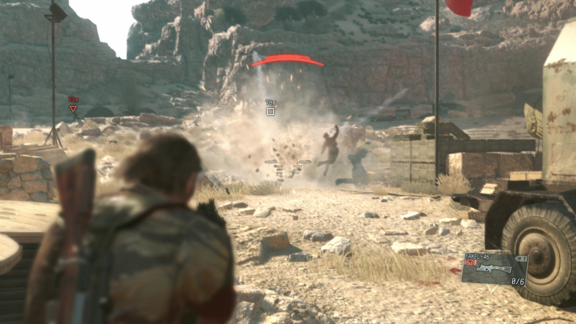 Stealth isn't the only way in Metal Gear Solid V