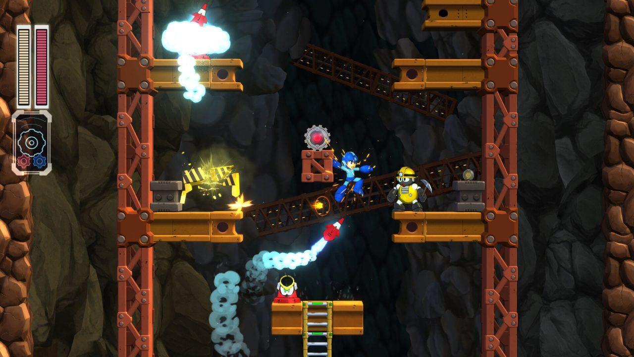 Megaman 11 has a mix between platform and action
