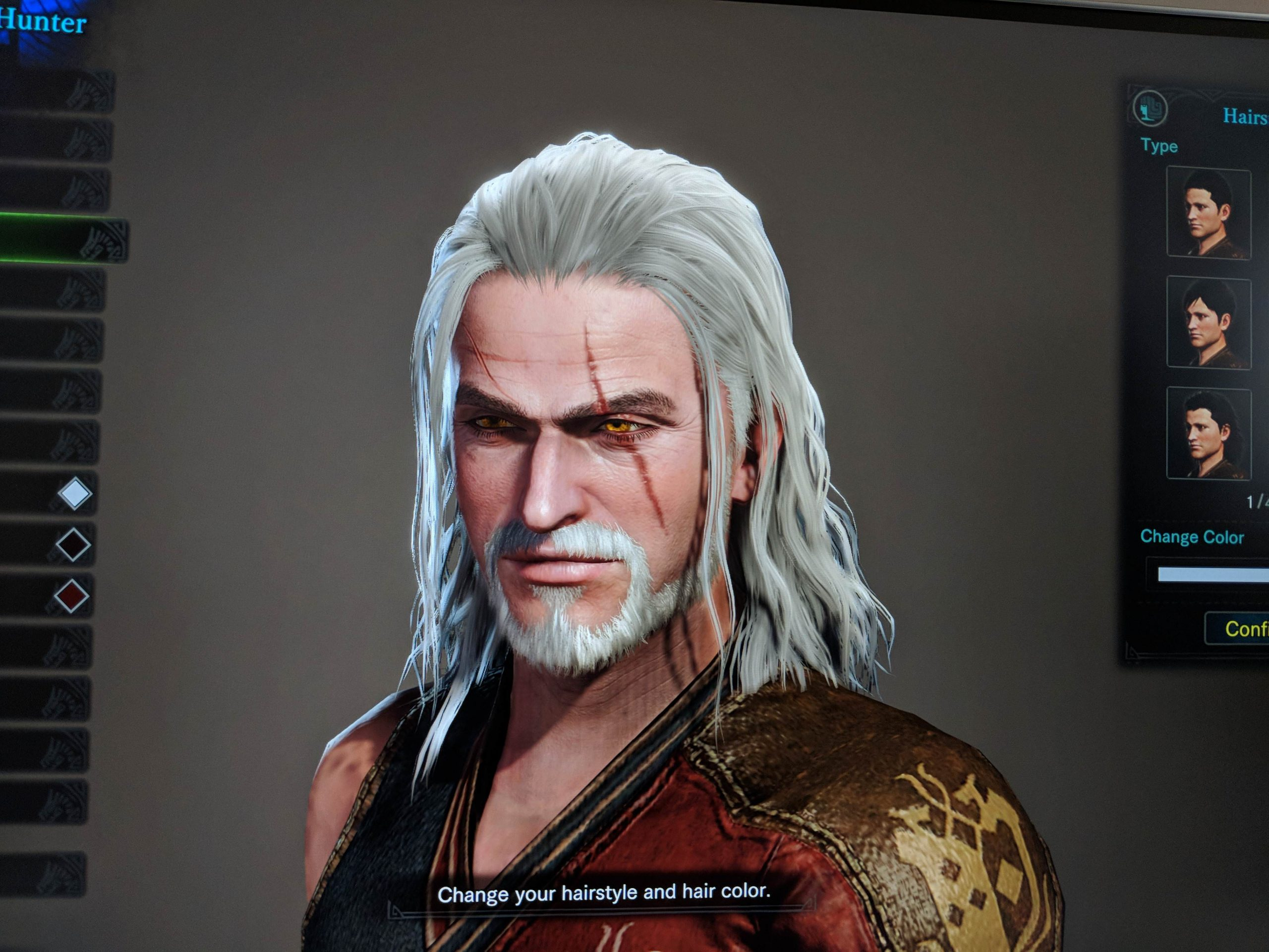Main Character can be customized