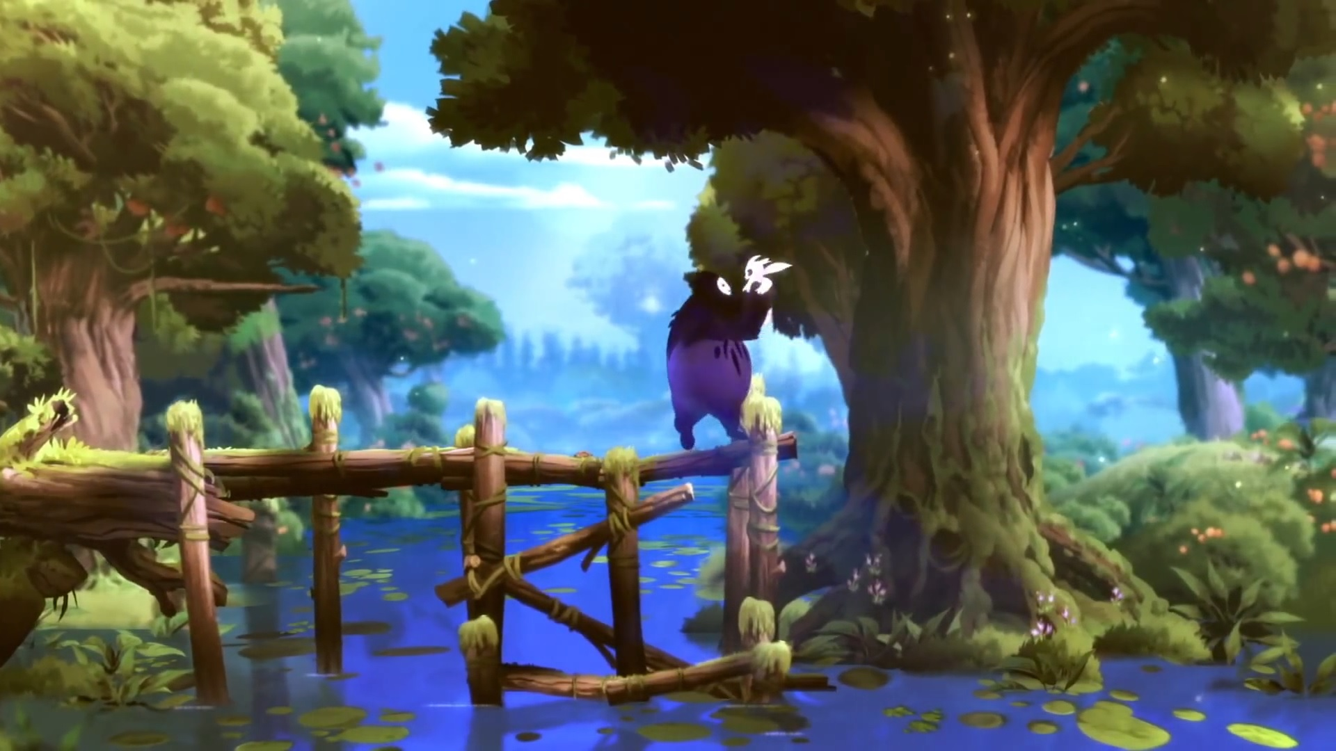 Wonderful graphics in Ori and the Blind Forest