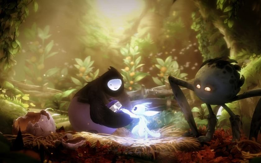 Ori and the blind forest has an exceptional plot