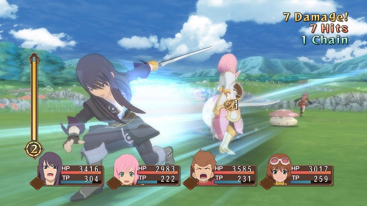 Tales of Vesperia has a wonderful gameplay