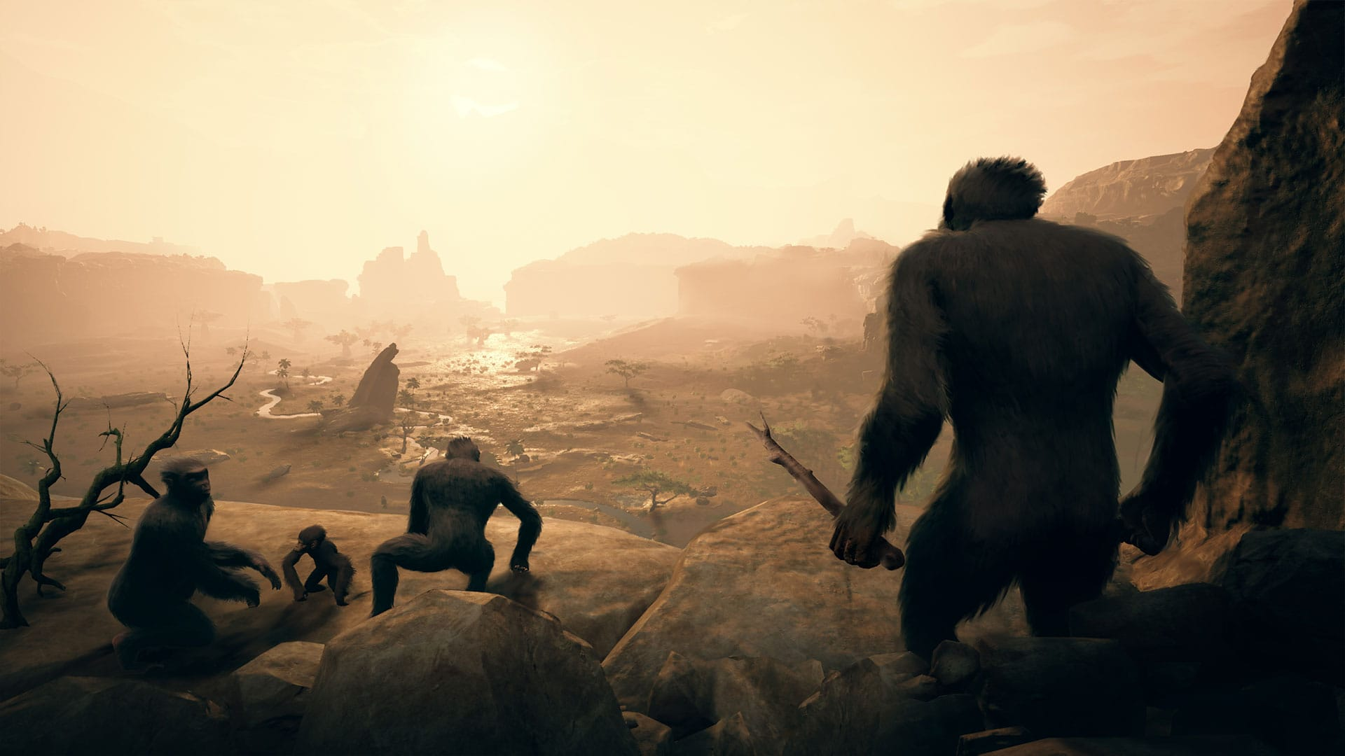 Ancestors: The Humankind Odyssey and the hostile environment