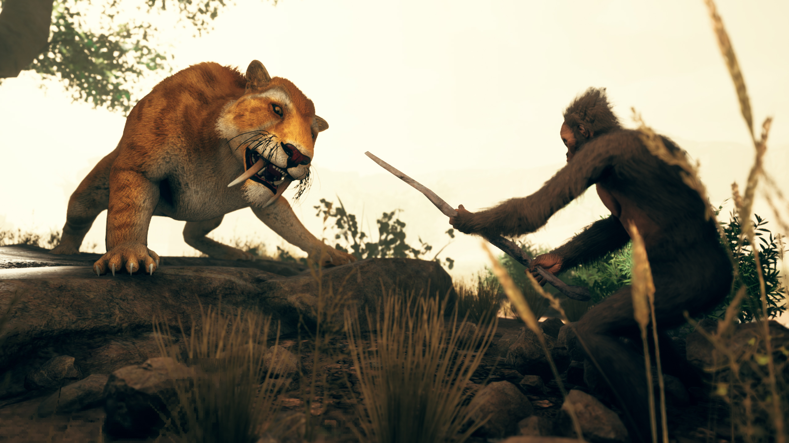 Survive in Ancestors: The Humankind Odyssey will not be easy