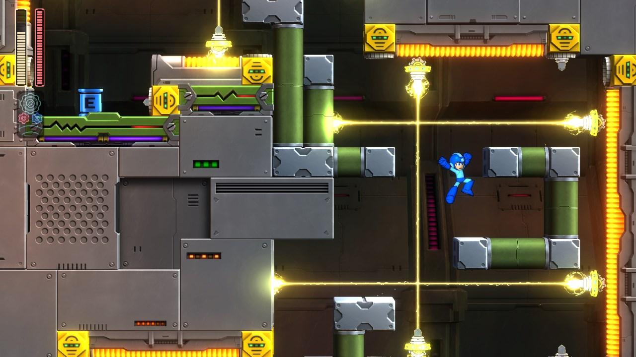 Wonderful graphics from Megaman 11