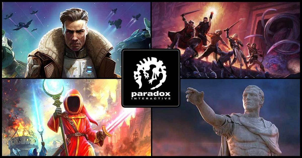 Paradox Fantasy Weekend Poster
