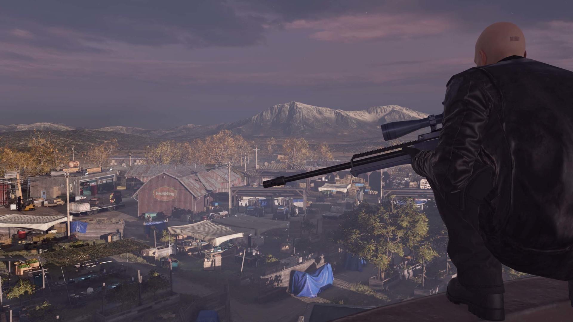 Be a sniper, Agent 47!