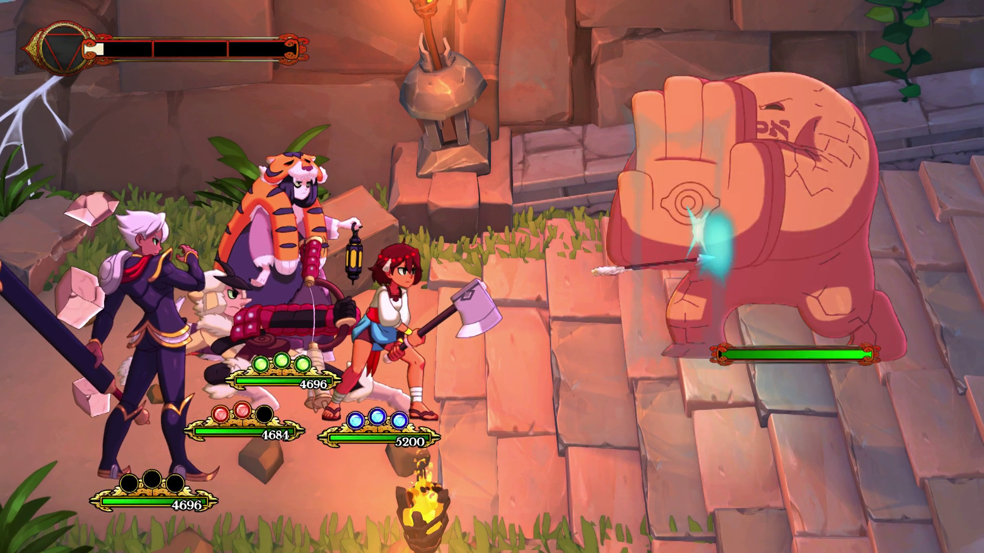 Indivisible has a magnificent combat system