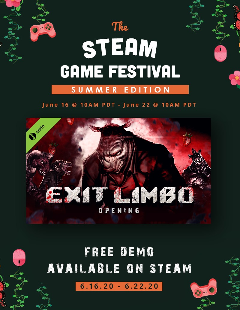 Exit Limbo Opening Steam Game Festival