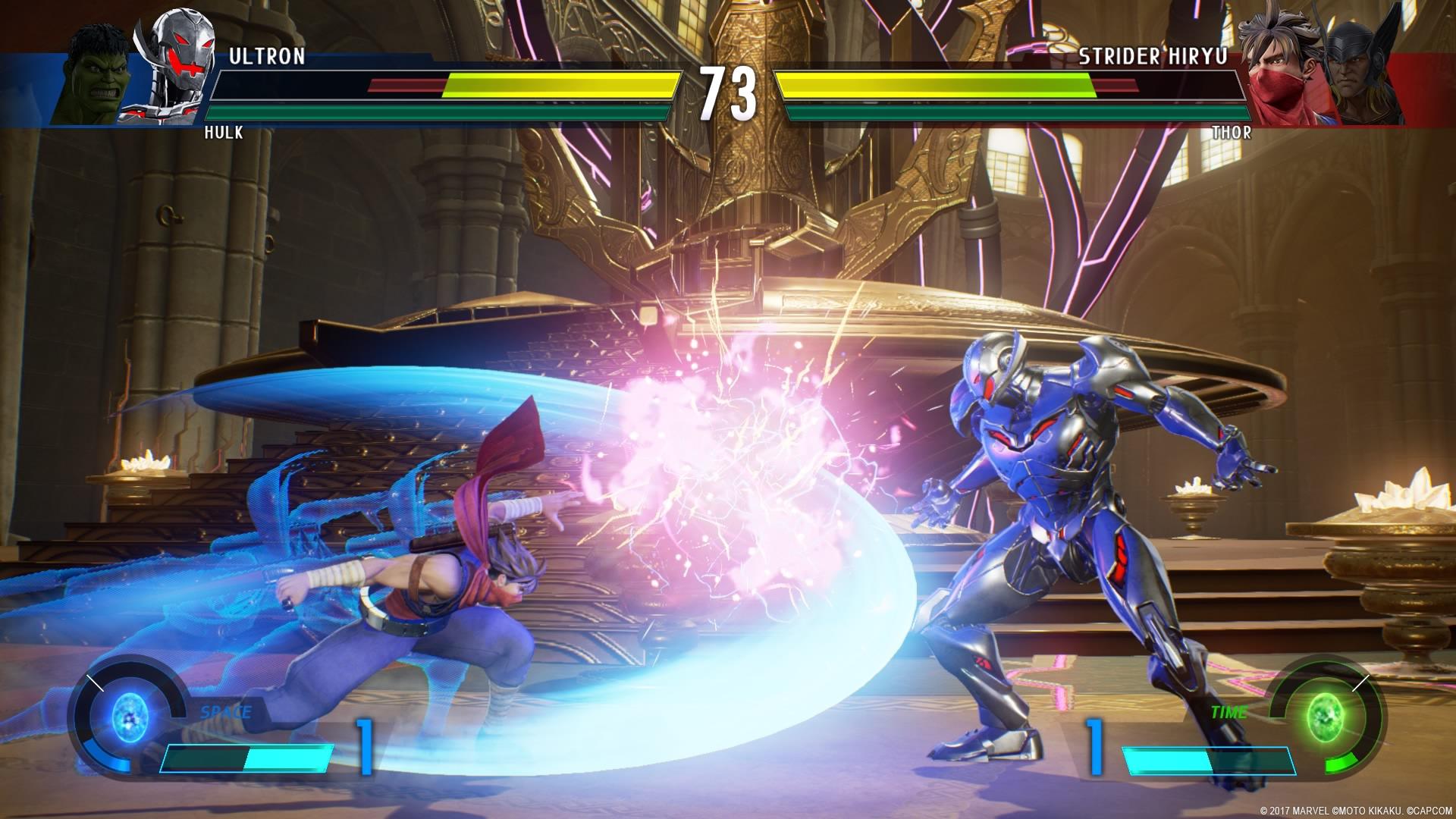 Marvel vs Capcom: Infinite gameplay