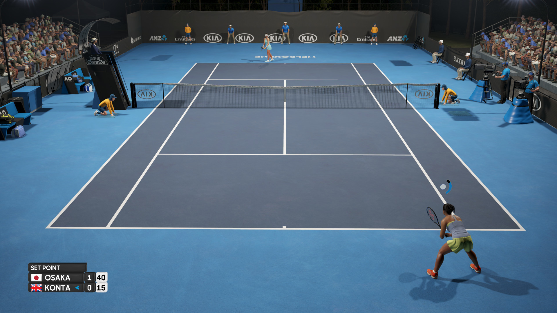 AO Tennis 2 PC: a mix of realism and Arcade