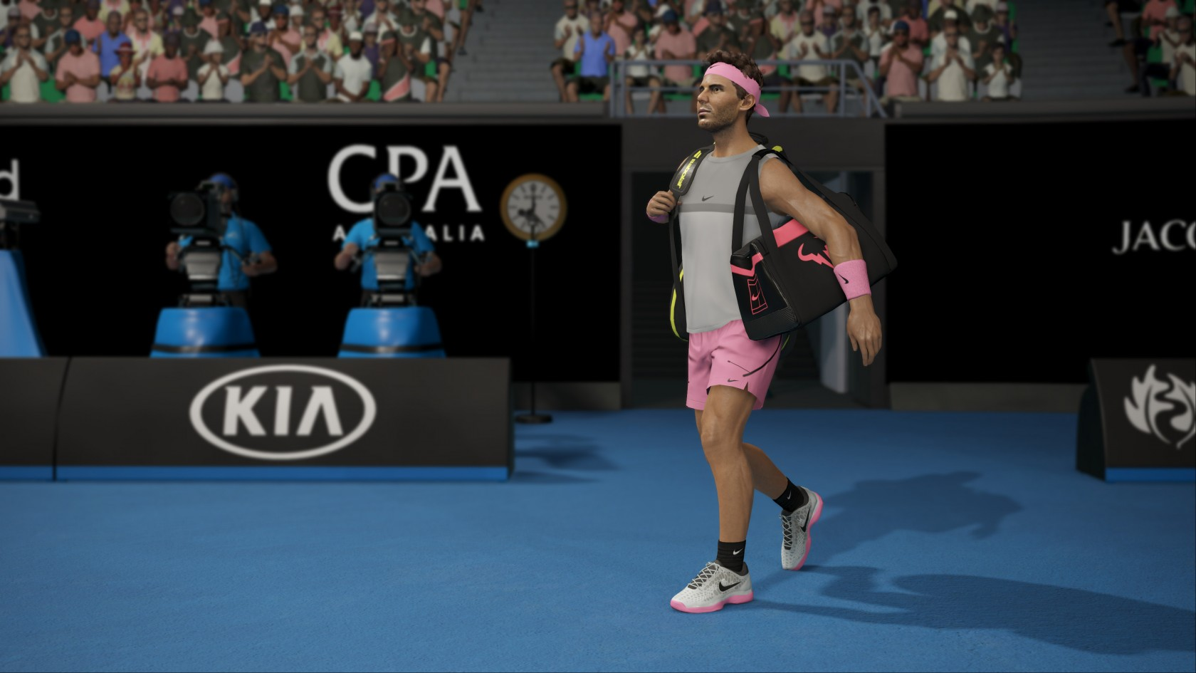 AO Tennis 2 PC and graphics