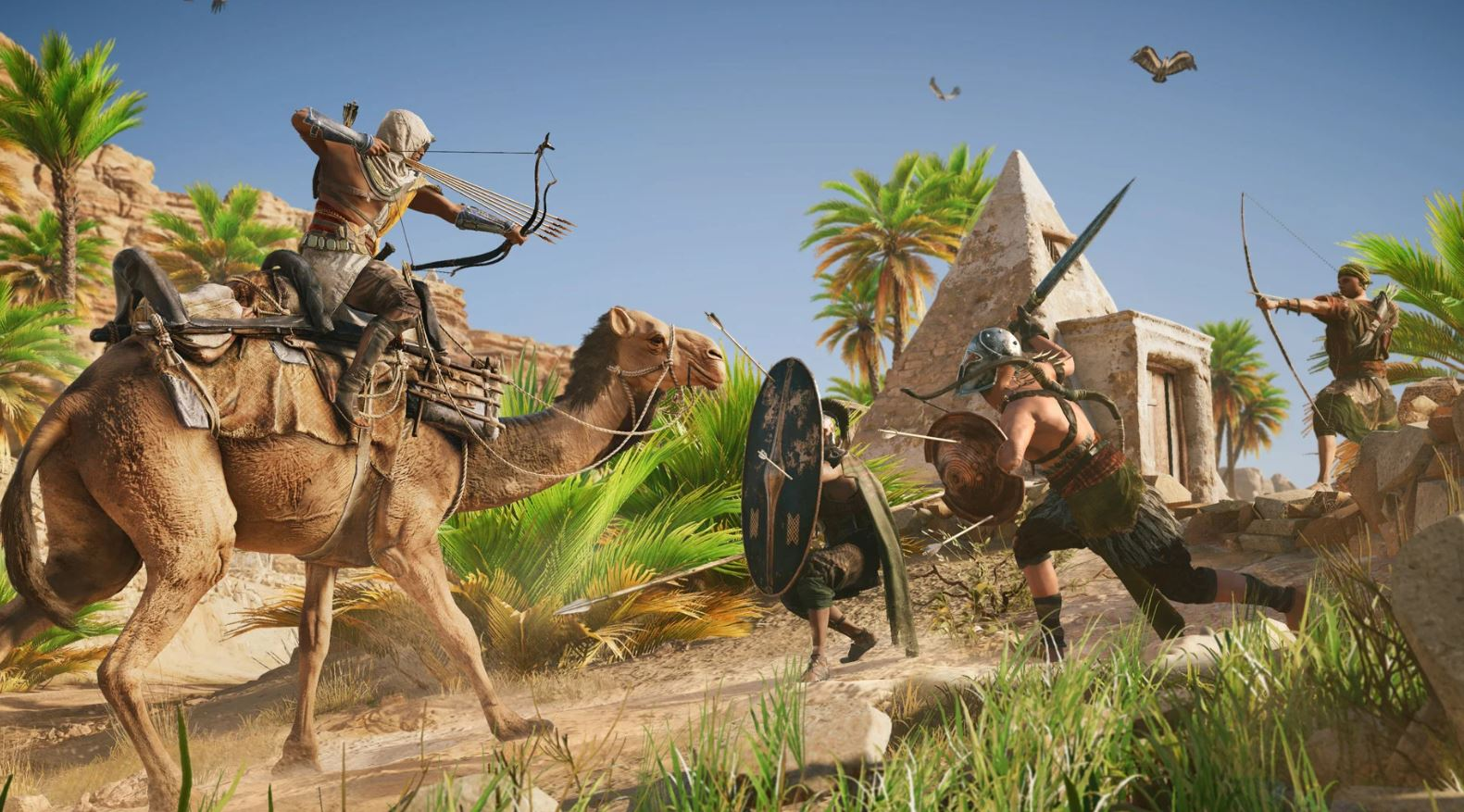 Assassin's Creed Origins and the combat system