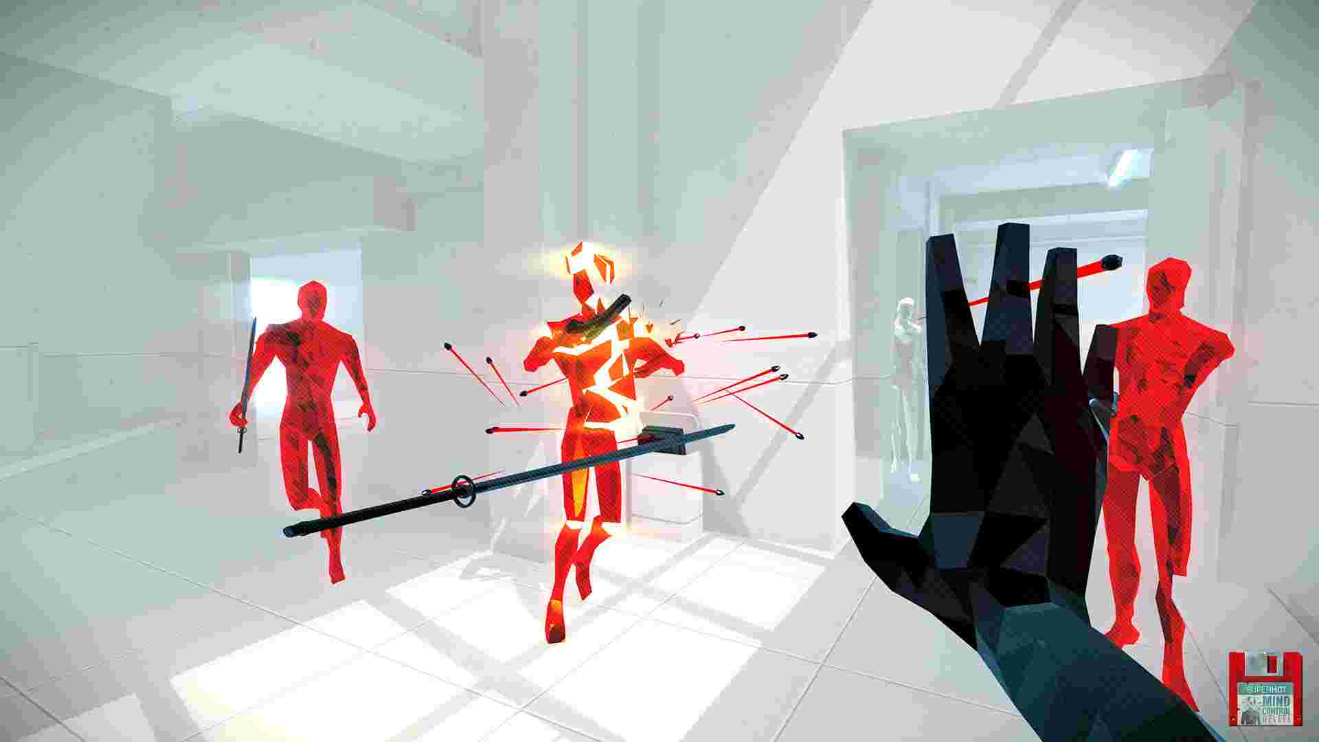 Superhot Mind Control Delete is exciting