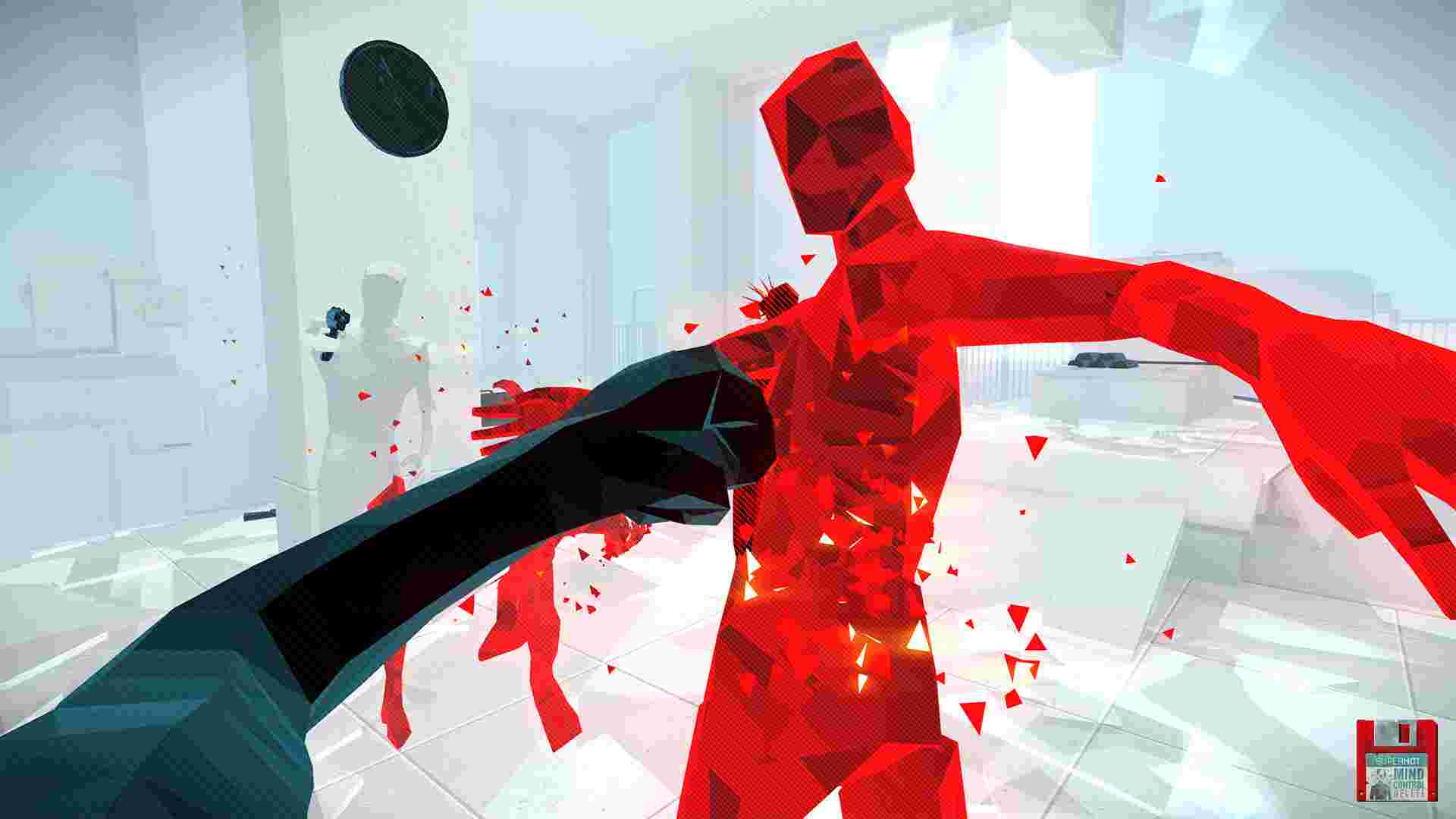 Superhot: Mind Control Delete hasn't a good plot