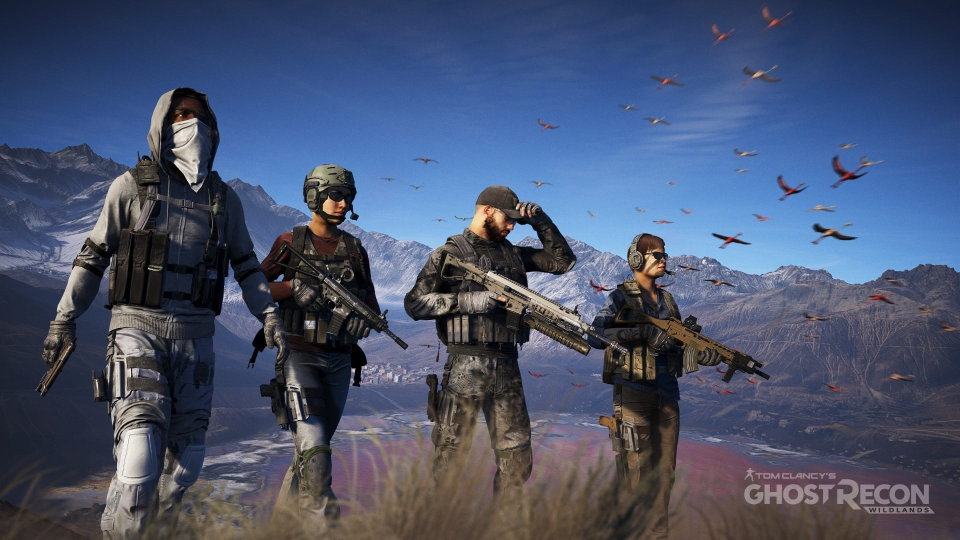 Ghost Recon Wildlands: a story about team