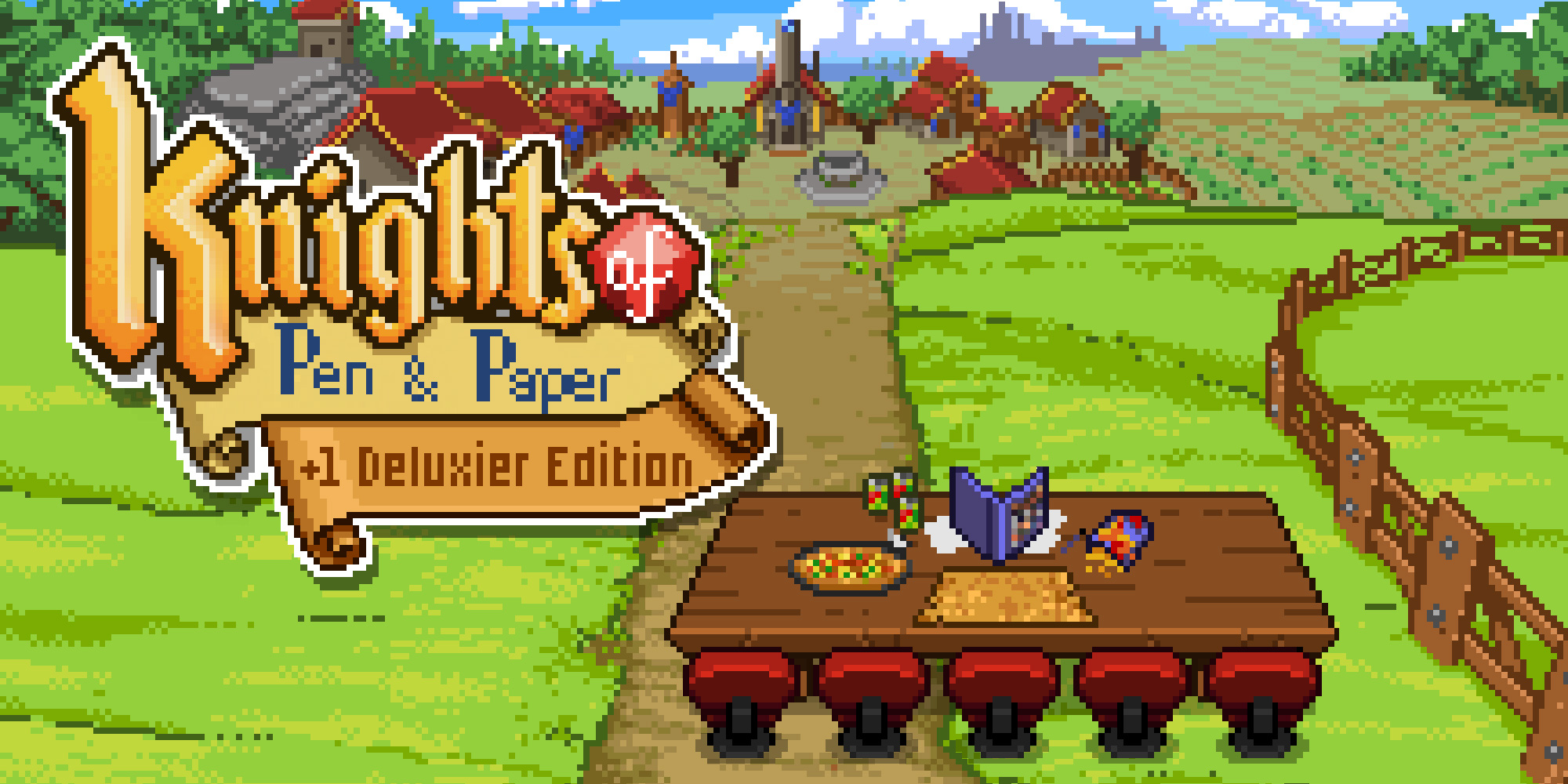 Paradox RPG Sales: Knights of Pen and Paper