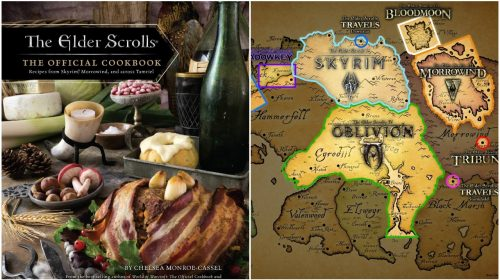 An Elder Scrolls Cookbook?! Yes, It Does Exist!